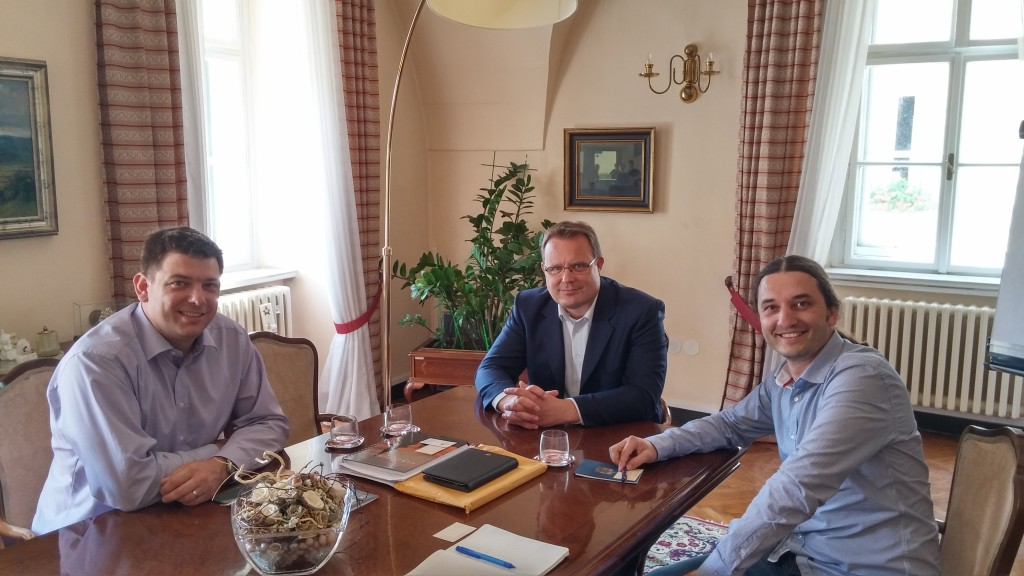 MEETING HELD WITH THE MAYOR OF THE CITY OF VARAŽDIN - Crane.hr